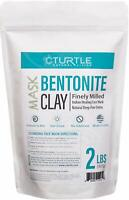 Bentonite Clay Powder - Natural Healing Face Mask -  Promotes Healthy Skin