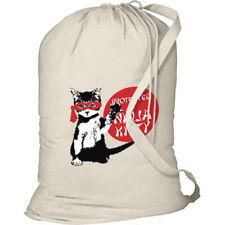 Ninja Kitty New Laundry Bag Camp Duffel Events Travel Beach Summer Students Cats