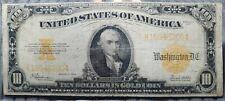 1907 U.S $10 Gold Coin Certificate