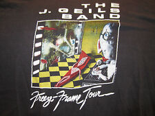 Vintage Original J GEILS BAND Concert Shirt True Vinatge Tour Shirt 1981 Size XL
