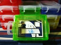 Baseball Card Storage Vaults FOR CARDS IN PENNY SLEEVES ! New Color Vaults GREEN