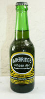 Jacksonville Fla Waycross GA Dr Herrings Ginger Ale Seven Up Full Soda Bottle
