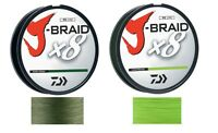 Daiwa J-Braid Braided Line - Choice of Sizes and Colors