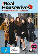The Real Housewives Of New York City : Season 1 (DVD, 2011, 3-Disc Set)vgc