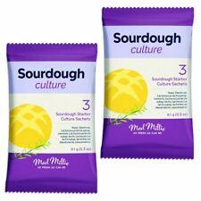 2x Mad Millie Sourdough Culture 3x sachet pack