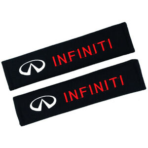 Cotton Car Seat Belt Covers Shoulder Pads Protect Safety Cushion for INFINITI
