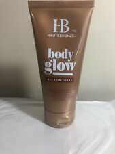 HauteBronze Gradual Self-Tanning Body Perfecting Cream, Tan Towel, 5.7 oz New