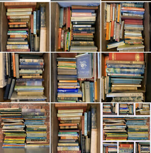 Job Lot Antique And Old Vintage Books Collection Only NG4 Notts Adults Children
