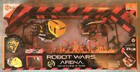 HEXBUG ROBOT WARS ARENA FOLDABLE W/ 2 ROBOTS (ROYAL PAIN + IMPULSE) BOXED TESTED