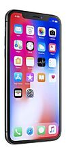 New Apple iPhone X 64GB Unlocked Silver Smartphone Warranty GSM Works Worldwide
