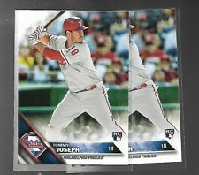 2016 Topps Update Tommy Joseph RC Lot of 2