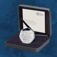 Großbritannien - BREXIT - 50 Pence 2020 Silber PP - United Kingdom