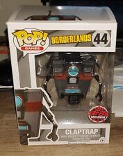 Funko POP! Games Borderlands Claptrap GRAY EB Exclusive #44 RARE