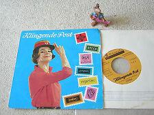 "KLINGENDE POST I/1966 WERBE-7"" EP+ PS ELVIS PRESLEY THE WHO SINATRA KNEF DRAFI"