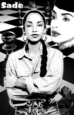 "Sade ""Black Light"" Poster B"
