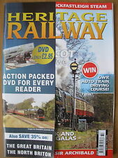 HERITAGE RAILWAY THE COMPLETE STEAM NEWS MAGAZINE ISSUE 122 MARCH 19 2009