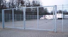 Industrietor Einfahrtstor verzinkt Tor Hoftor Doppeltor Gartentor 600cm x 200 ÜB