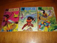 Redblade #1-3 Complete NM Set Dark Horse 1993 See My Store
