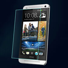 Tempered Glass LCD Transparent Screen Protector Guard Shield For HTC One M7 2013