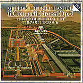 Handel: 6 Concerti Grossi Op. 3: The Engish Concert, The English Concert, Trevor