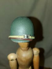 "Accessories for 12"" Action Figure 1:6 scale  US WWII Helmet Enlisted Soldier"
