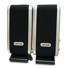 USB Speakers laptop portable multimedia sound music PC desktop TV speakers T8R1