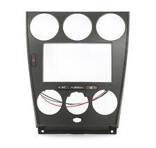 MAZDA 6 Doppel DIN Radioblende 2DIN Blende Auto Radio mit Fach schwarz