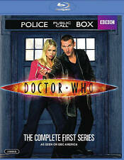 Doctor Who - The Complete First Series (Blu-ray Disc, 2016, 3-Disc Set)