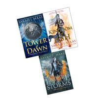 Sarah J. Maas Throne of Glass Series 3 Books Collection Set Kingdom of Ash NEW