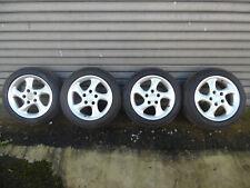 RH Turbo Alu Felgen 17 Zoll 9J x 17H2  5x130  Porsche Winterreifen
