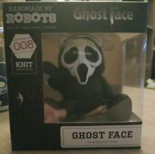 Handmade By Robots~Scream Ghost Face 008 Knit Series~4� Collectible Vinyl Figure