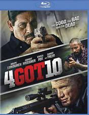 4Got10 [Blu-ray] DVD, Danny Trejo, Vivica Fox, Michael Paré, Johnny Messner, Dol
