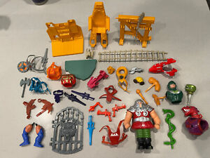 Masters of the Universe He-man weapons accessories And More