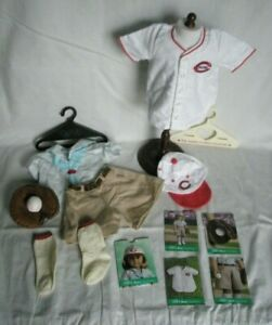 American Girl Kit Cincinnati Reds Baseball Outfit - Retired - Special Edition