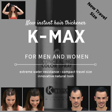 K-Max New Instant hair thickener 4 x 100ml cans - Travel Size -  Fast Dispatch
