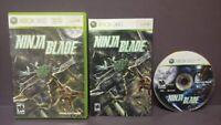 Ninja Blade  -  Microsoft Xbox 360 Rare Tested + Works Complete w/ Manual