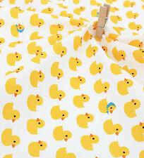 Remanente De Patos bebé 100% algodón tejido de 110cm X 22.5cm Quilting fabric de corte de a    /CintaDeslizadorScrapbookinginvitación