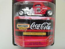 MATCHBOX COLLECTIBLES - COCA-COLA - 1933 FORD COUPE HOT ROD - DIECAST