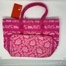 NIKE Sportswear AF1 Tote Bag Pink White Floral Pattern BA6346 677 - New