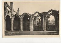 Melrose Abbey South Aisle Chapels Of The Nave RP Postcard 496a
