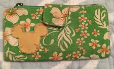 Disney Wallet Mickey Mouse Green Yellow Preowned