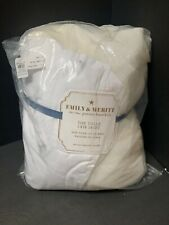 Pottery Barn Kids Ivory Emily & Meritt Tulle Crib Skirt Nursery Baby Infant New