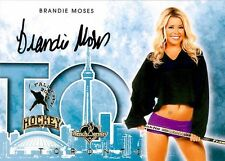 Brandie Moses 2014 Bench Warmer Toronto Fall Expo Autograph Auto