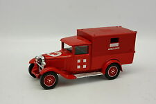 Solido SB 1/43 - Citroen C4F Ambulance Pompiers