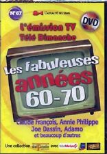31613/LES FABULEUSES ANNEES 60-70 N°67 EMISSIONS TELE DIMANCHE DVD NEUF