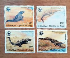 Reptile Crocodile Congo 1987 New MNH 88M193