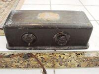 1924 Antique Atwater Kent Model 35 Tube Radio, Metal
