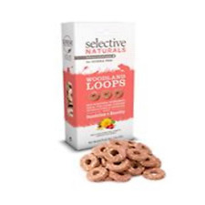 Selective Naturals Woodlan Loops Dandelion & Rosehip 80g for small animals