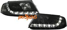 Scheinwerfer VW Passat 3BG LED Tagfahrlicht Optik Xenon Look schwarz 01-05  (S)