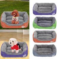 Paw Pet Sofa Dog Bed Waterproof Bottom Soft Plush Nest Basket for Cat Puppy SN9F